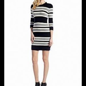 French Connection Bambi Jag Sweater Dress